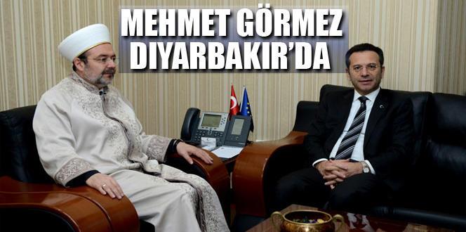Diyanet işleri başkanı Mehmet Görmez, Diyarbakır'da