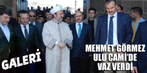 Prof. Dr. Mehmet Görmez Ulu Camii'de vaaz verdi (Galeri)