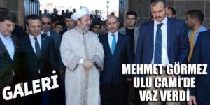 Prof. Dr. Mehmet Görmez Ulu Camii'de vaaz verdi (Galeri)