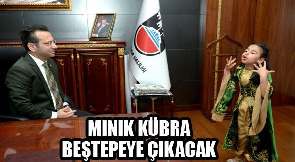Diyarbakır'lı Kübra, Beştepe'ye Davet Edildi