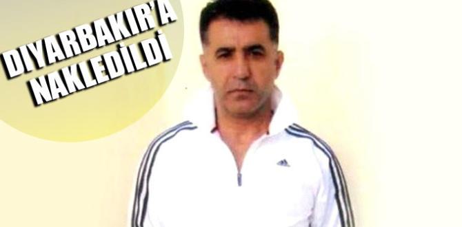 Özgecan'ın katilini öldüren şahıs Diyarbakır'a nakledildi
