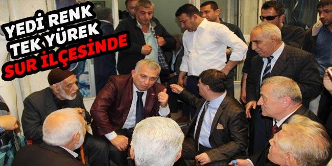 Diyarbakır: Türkiye'nin 7 bölgesinden 7 vekili ağırladı