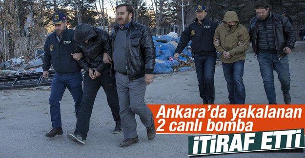 """Ankara'da eylem hazırlığında """"Canlı Bomba"""" yakalandı"""
