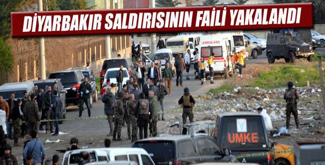 Diyarbakır'da: 7 Polisin şehit olduğu saldırının faili yakalandı