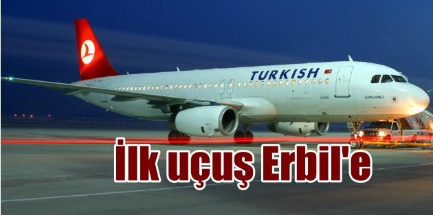 Diyarbakır'dan ilk dış hat uçuşları Erbil'de