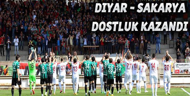 Diyarbekirspor 1 – 1 Sakaryaspor, Dostluk Kazandı !