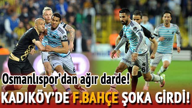 Fenerbahçe'ye Osmanlıspor'a takıldı, 0-0