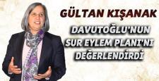 Kışanak: Davutoğlu'nun Sur açıklamasını değerlendirdi