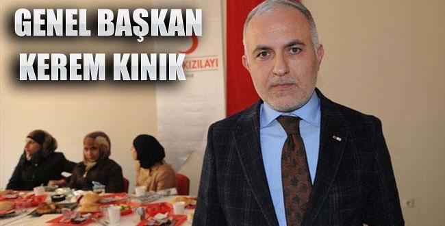 Türk Kızılayı'nın Genel Başkanı belli oldu