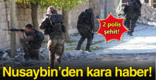 Mardin'in Nusaybin ilçesinde çatışma: 2 şehit