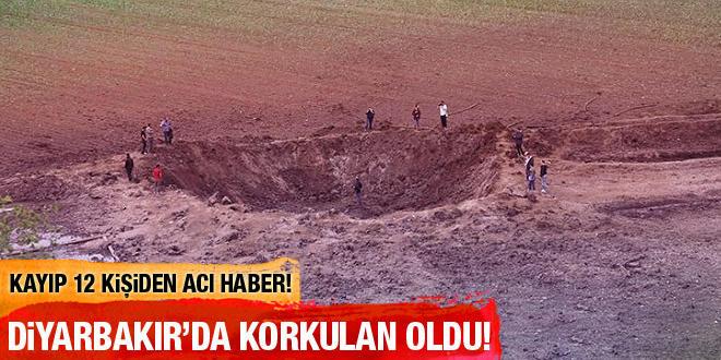 Diyarbakır'da kayıp 12 köylü parçalanarak ölmüş