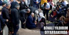 AKP Genel Başkan Adayı Binali Yıldırım Diyarbakır'da