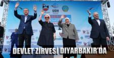 Devlet zirvesi Diyarbakır'da açılış düzenledi