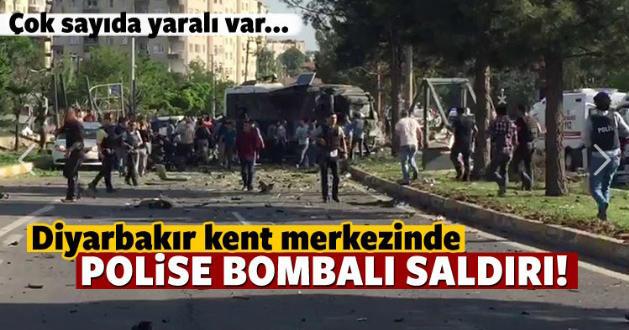 Diyarbakır'da Bombalı Saldırı, çok sayıda yaralı var