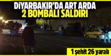 Dicle'de yaşanan saldırıda 1 Şehit, 1'i Ağır 21 Yaralı