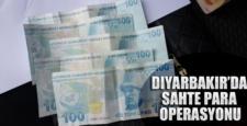 Diyarbakır'da sahte para operasyonu düzenlendi