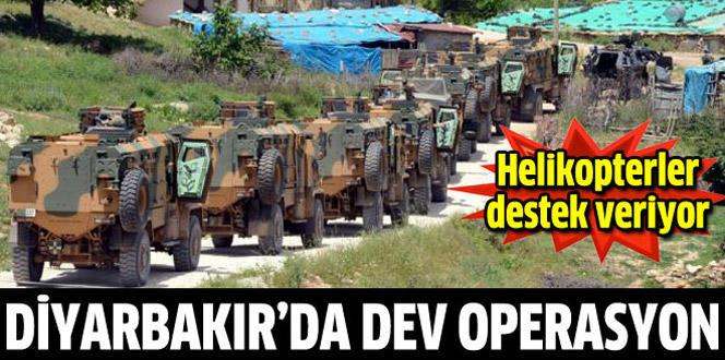 Diyarbakır'da uyuşturucuya darbe, büyük operasyon