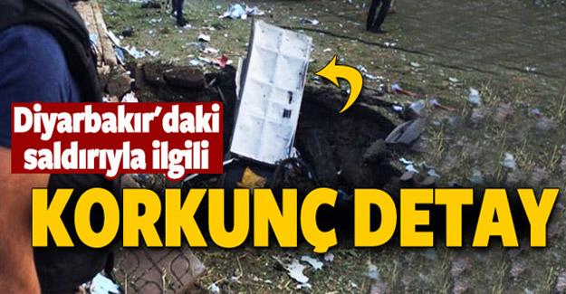 Diyarbakır'daki patlamada kaç kilo bomba kullanıldı ?