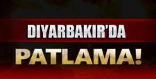 Diyarbakır'da şiddetli patlama meydana geldi