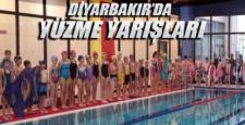 Diyarbakır'da yüzme yarışları tertip edildi