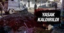 Sur'da, sokağa çıkma yasağı 5 mahallede kalktı