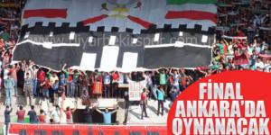 Diyarbekirspor'un final maçı Ankaraya alındı