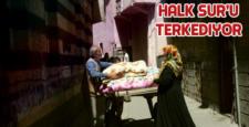 Sur'da yasaklı mahalleler açıldı, Halk kaçıyor