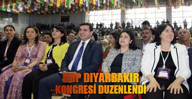 Demirtaş, HDP'nin Diyarbakır kongresinde konuştu