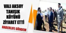 Hüseyin Aksoy, Tanışık köyüne ziyarette bulundu