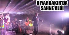 Rafet El Roman, Diyarbakır'da sahne aldı