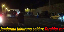 Diyarbakır'da jandarma taburuna bombalı araç saldırı