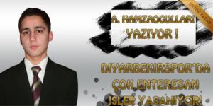 Diyarbekirspor'da çok enteresan işler yaşanıyor