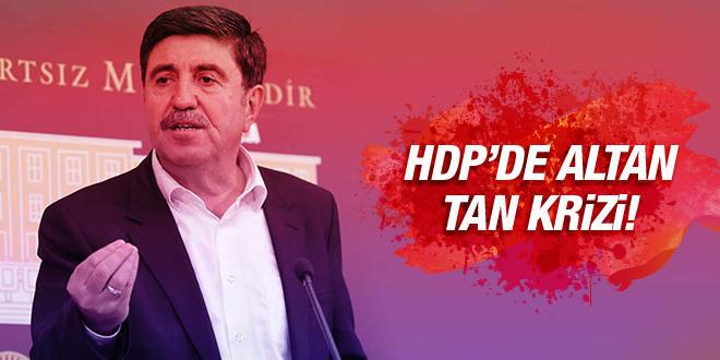 Altan Tan'ın Öz eleştiri çıkışına, HDP'den tepki geldi