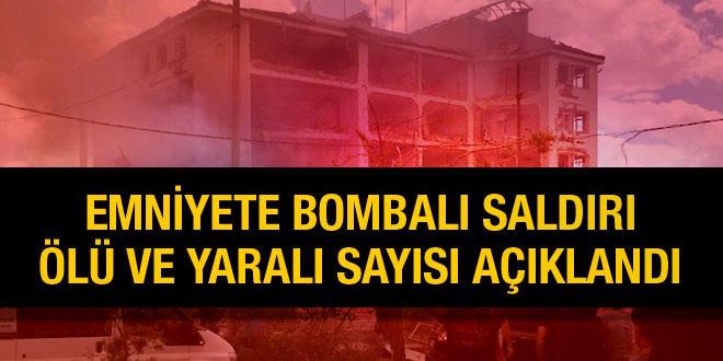 Emniyet Müdürlüğü'ne Saldırıda ölen sivil 3'e çıktı