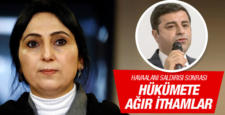 HDP, Hava limanı patlaması sonrası ağır konuştu