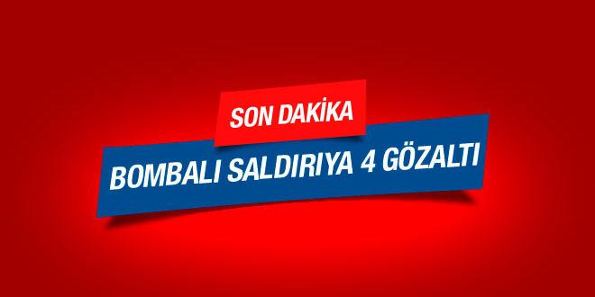 İstanbul'daki saldırıda 4 gözaltı.. SON DAKİKA !