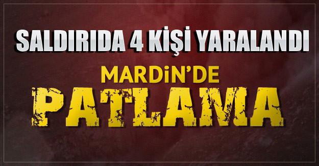 Mardin'de pasaja bombalı saldırı, yaralılar var