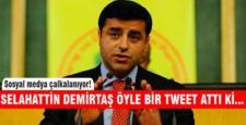 Selehattin Demirtaş'tan Tayyip Erdoğan ve İsrail tweeti!