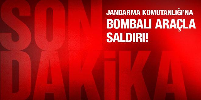 Tunceli'de jandarmaya bombalı araçla saldırı!