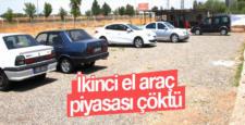 Diyarbakır'da ikinci el araç satışı dibe vurdu