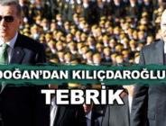 Cumhurbaşkanı Erdoğan, Kılıçdaroğlu'nu tebrik etti