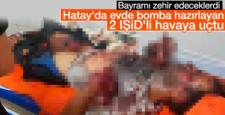 Hatay'da evde bomba yapan Suriyeliler havaya uçtu!