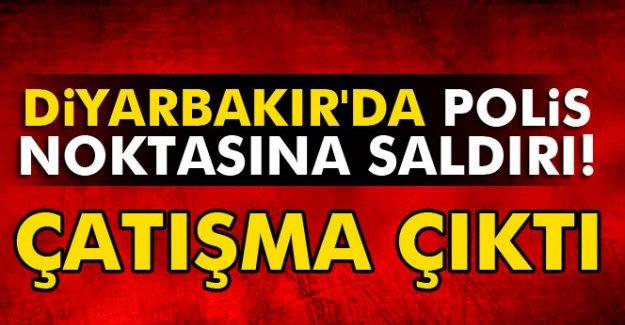 Diyarbakır'da Polis kontrol noktasına saldırı