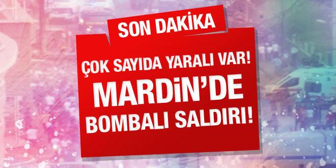 Kızıltepe'de bombalı saldırı, 3 Ölü 30 Yaralı