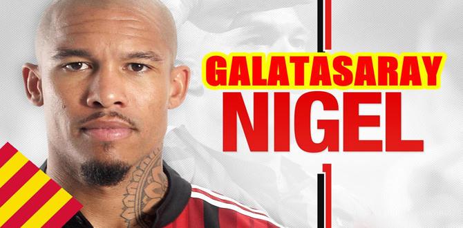 Galatasaray, Nigel de jong ile anlaştı, oyuncu İstanbula geldi