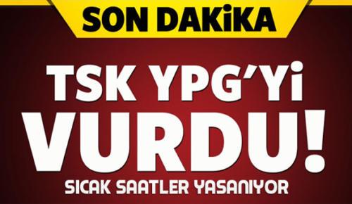 TSK, Cerablus'un güneyinde YPG'i vurdu