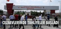 Cezaevlerinden 4 bin 696 mahküm tahliye edildi