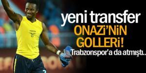 Trabzonspor'da Onazi fırtınası esti