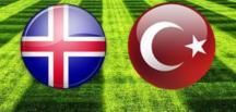 İzlanda – Türkiye maç başlıyor. İlk 11'leri belli oldu