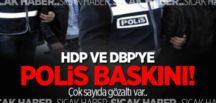 Tunceli'de DBP ve HDP il eş başkanları gözaltına alındı
